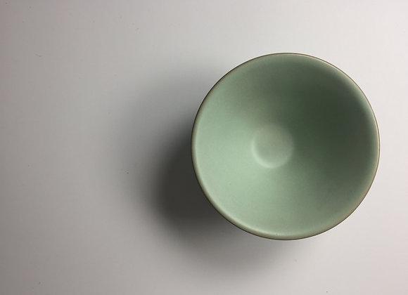 仿汝釉斗笠茶盞 Ru Type Tea Cup