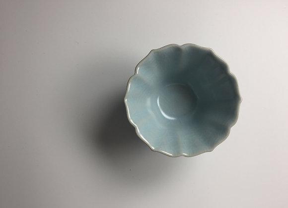 汝釉葵口型茶盞 Ru Type Tea Cup