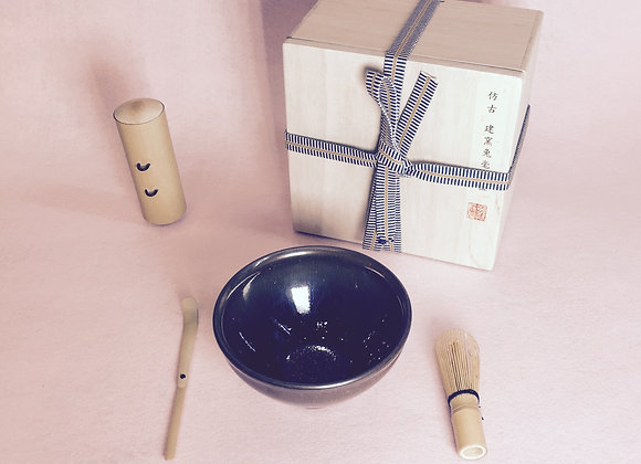 日式兔毫茶道 套裝  Japanese Matcha Set