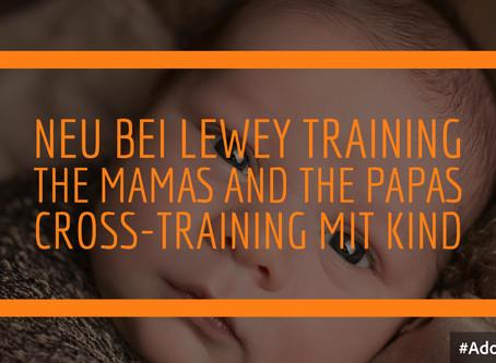 Crosstraining Mama|Papa|Kind mit Trainer Marius