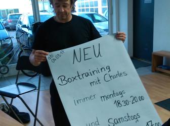 Neuer Kurs: Boxtraining mit Charles bei Lewey Training
