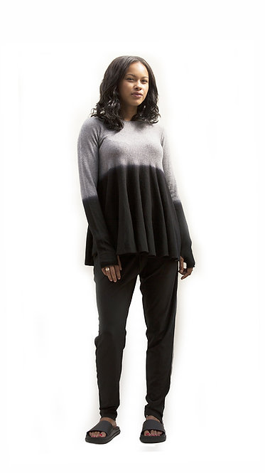 CASHMERE BELL OMBRE JUMPER