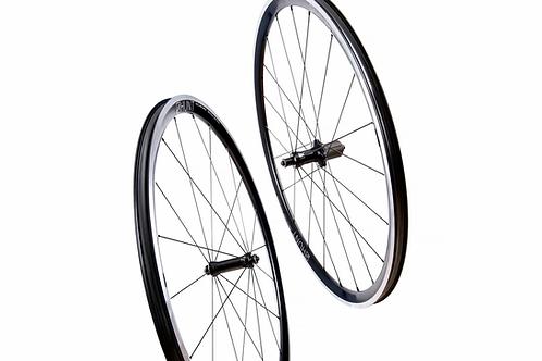 HUNT Race Season Aero Wide Wheelset Alloy Rim brake
