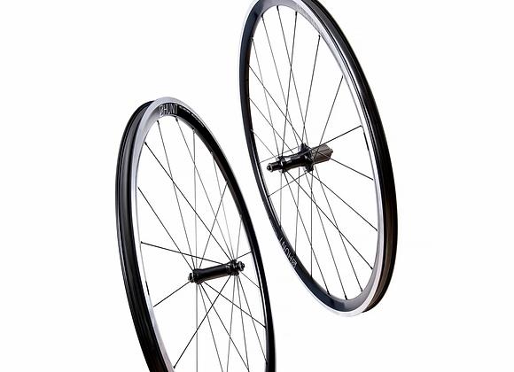 HUNT Race Aero Wide Wheelset Alloy Rim Brake