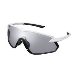 Shimano eyewear S-PHYRE X CE-SPHX1PH Matte Metallic White, Photochromic D Gray