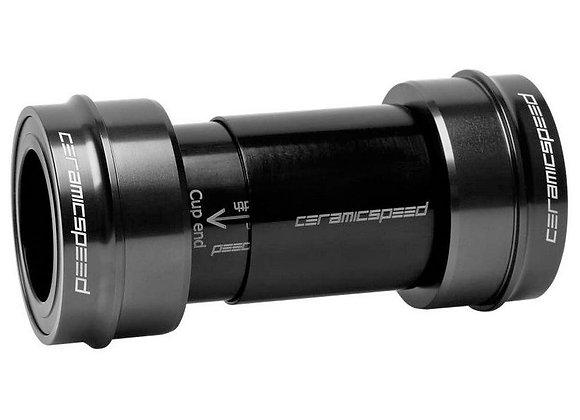 Ceramic Speed Bottom Bracket PF30A SRAM DUB Alternative black Coated