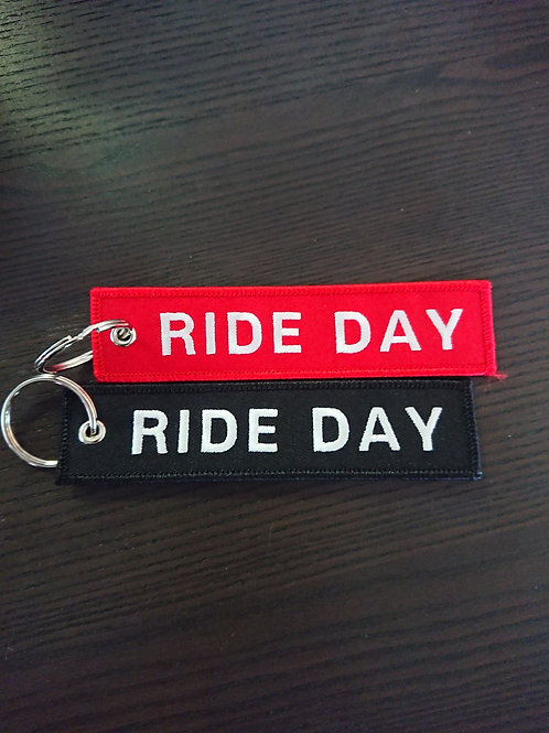 Ride day tag