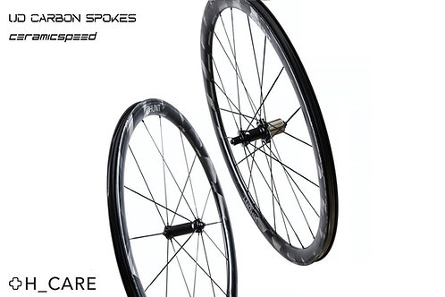 HUNT 36 UD CARBON SPOKE WHEELSET