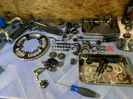 Full strip down of every component with our full servicing.  #dedication