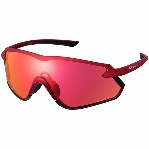 Shimano eyewear S-PHYRE X CE-SPHX1-RD Matte Metallic Red, Ridescape RD