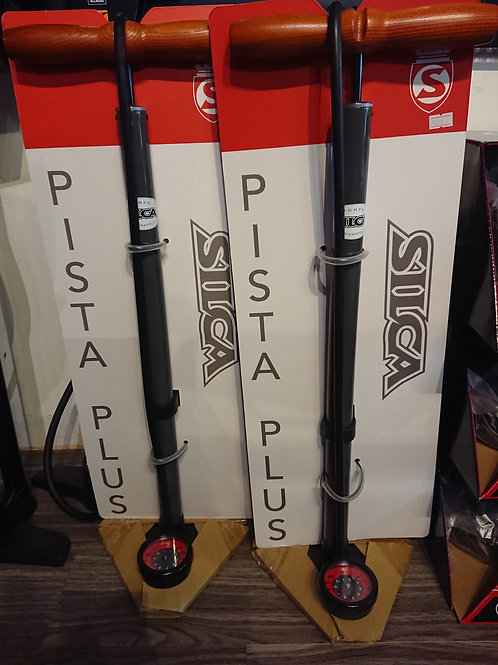 Silca Pista Plus Floor Pump Grey