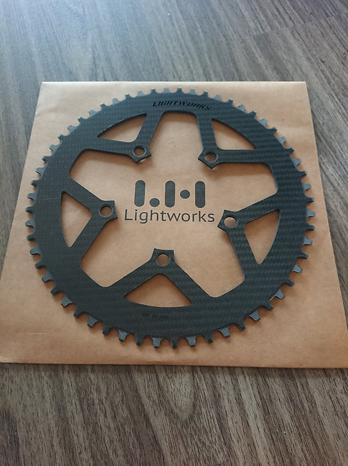 LightWorks ChainR Carbon Chainring 110BCD 56T