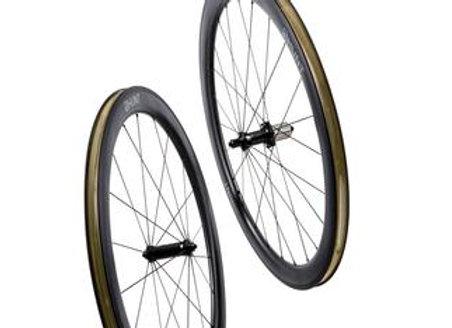 HUNT 50 Carbon Wide Aero Wheelset Rim Brake Quick Release