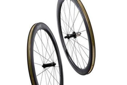 HUNT 50 Carbon Wide Aero Wheelset Rim Brake