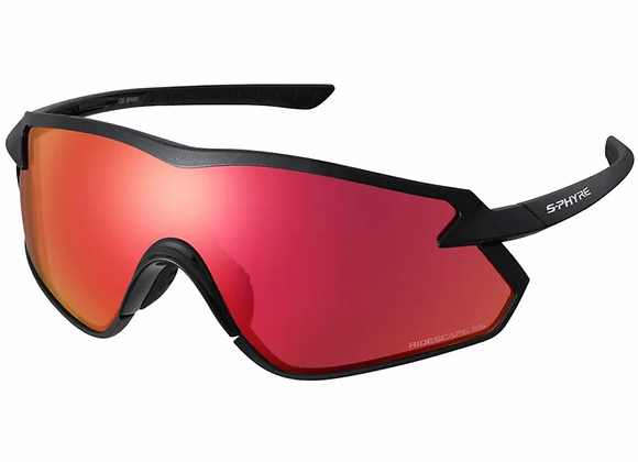 Shimano eyewear S-PHYRE X CE-SPHX1-RD Metallic Black, Ridescape RD
