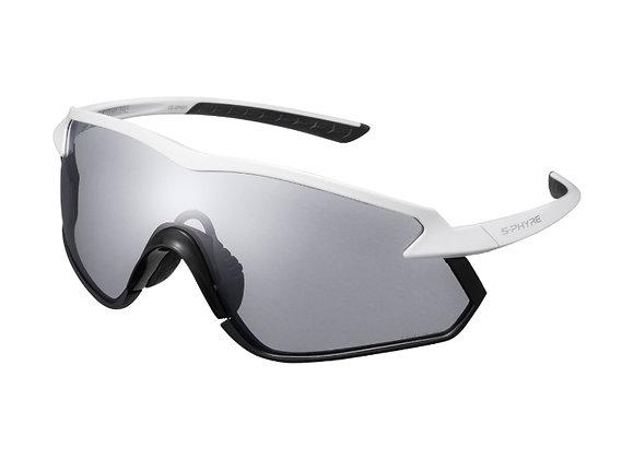 Shimano eyewear S-PHYRE X CE-SPHX1-RD Matte Metallic White, Ridescape RD