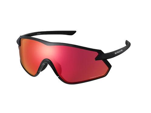 Shimano eyewear S-PHYRE X CE-SPHX1-ES Metallic Black, Ridescape OR