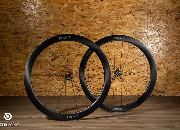 Hunt 50 Carbon Aero Wheelset Disc brake