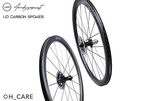 HUNT 44 UD Carbon Spoke Disc Wheelset