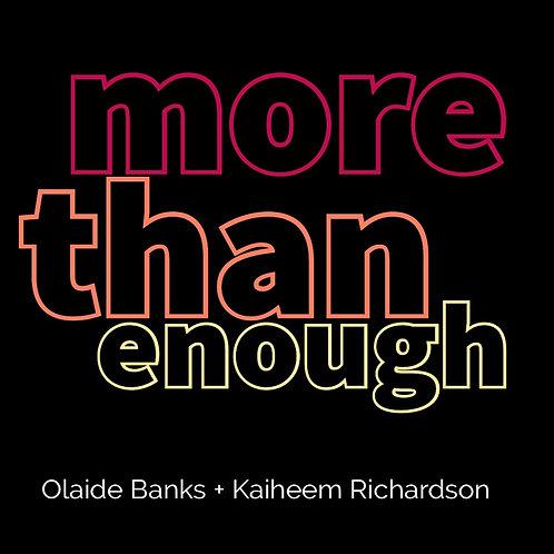 MORE THAN ENOUGH (Download)
