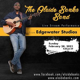 Olaide Banks Band 2/28/21