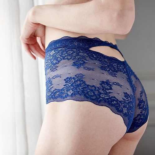 Navy Jessica French Knickers