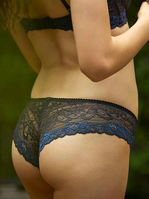 Black & Royal Blue Ella Panties