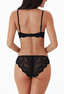 Alicia Midnight Black Set