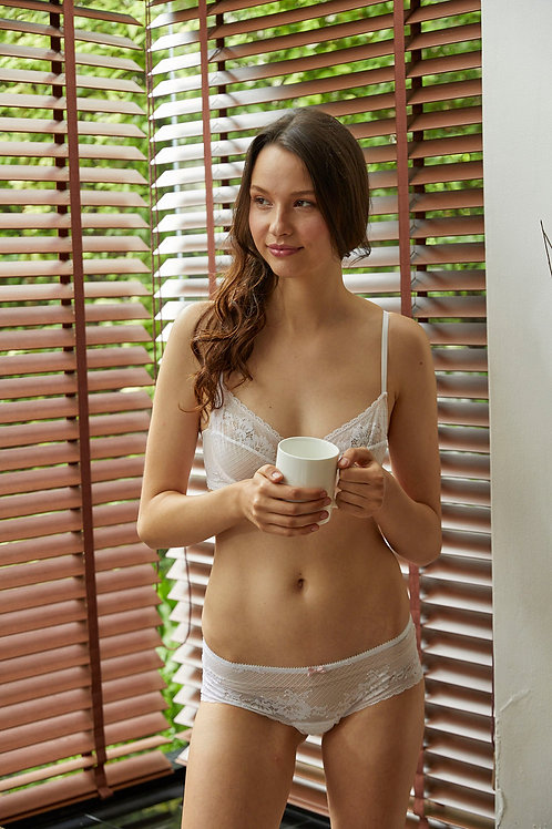 Jasmine White Freya Panties