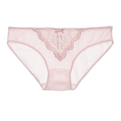 Rose Pink Alicia Sheer Brief