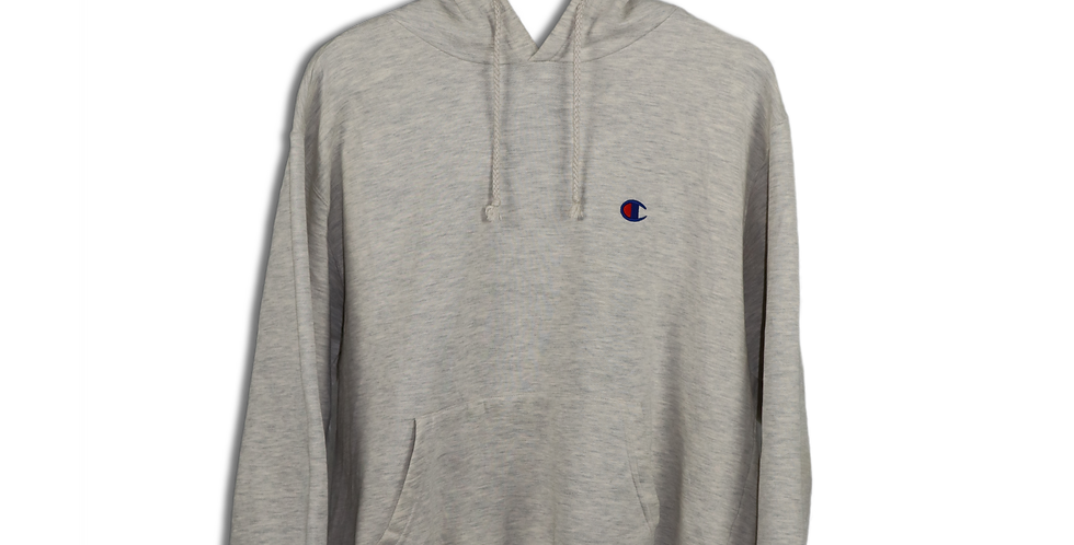 EARLY 1990s REVERSE WEAVE CHAMPION HOODIE | L