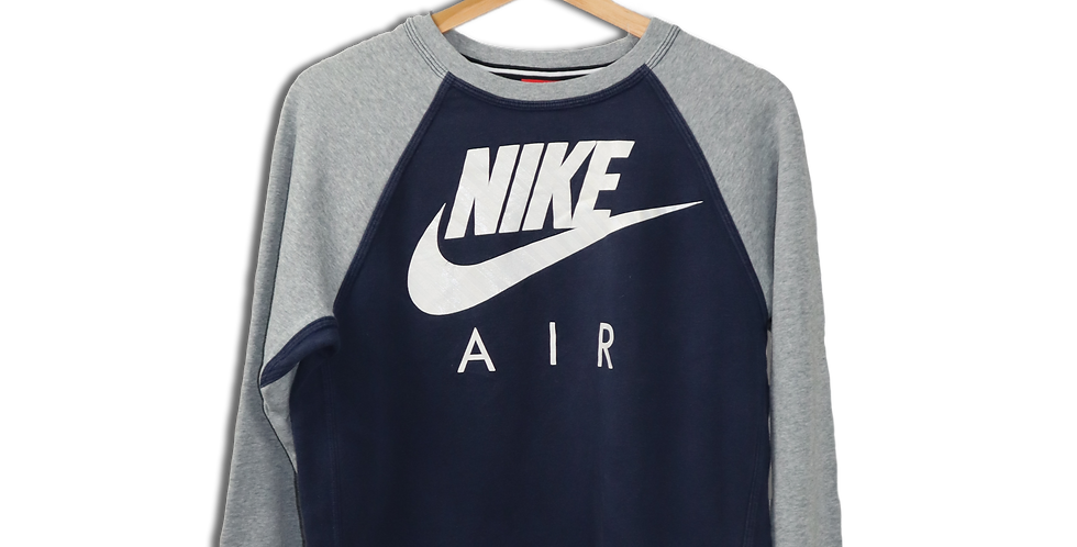 EARLY 2000s NIKE AIR CREWNECK JUMPER | S