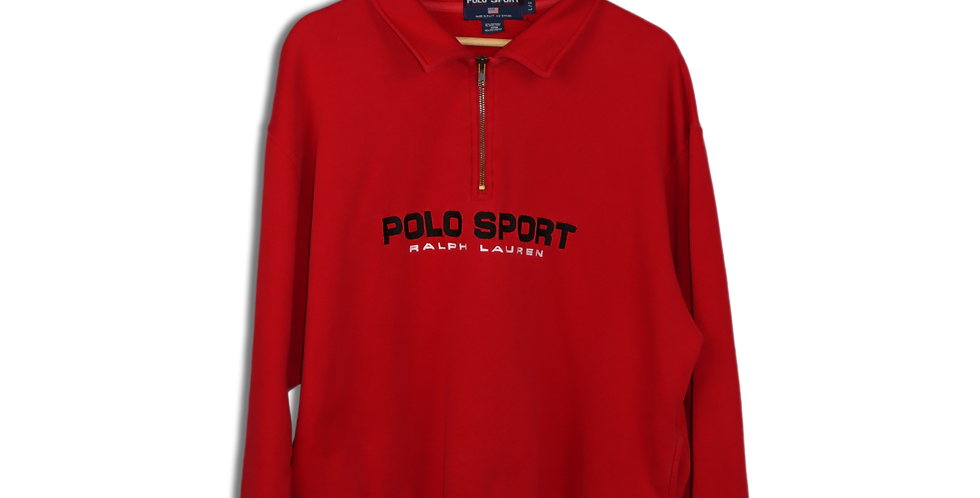 EARLY 1990s POLO SPORT QUARTER ZIP | L