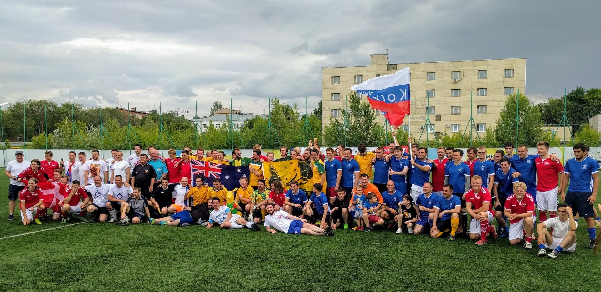 Cosmos Cup in Samara