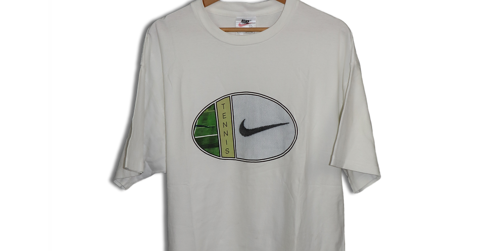 LATE 1990s NIKE TENNIS T SHIRT | L