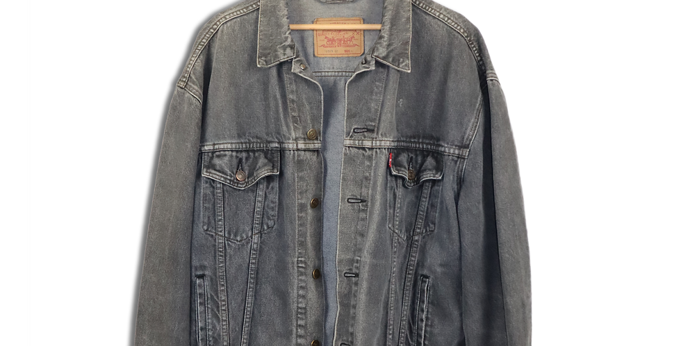 EARLY 1990s LEVI'S DENIM JACKET | XL