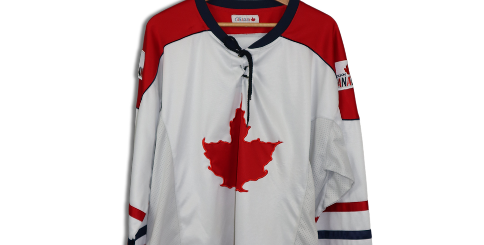 LATE 1990s CANADIAN HOCKEY JERSEY | L