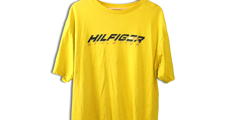 EARLY 1990s TOMMY HILFIGER T SHIRT | XL
