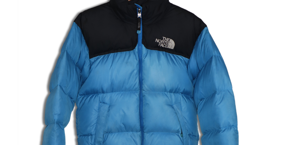 EARLY 2000s THE NORTH FACE TWO TONE PUFFER | XS