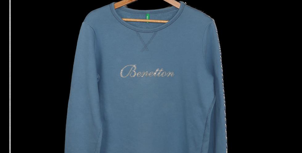 EARLY 1990s BENETTON CREWNECK SWEATSHIRT | S