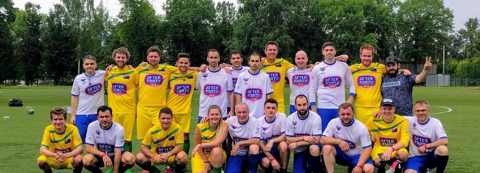 Fan World Cup in St. Petersburg