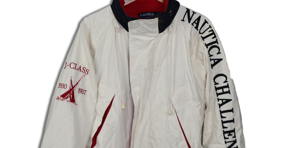 EARLY 1990s NAUTICA CHALLENGE WINDPROOF JACKET | S