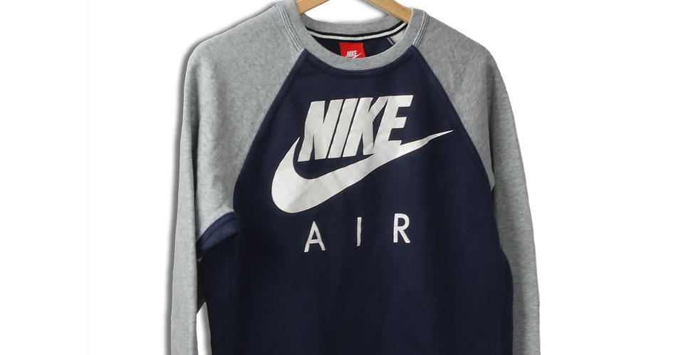 EARLY 2000s NIKE AIR CREWNECK SWEATSHIRT | S