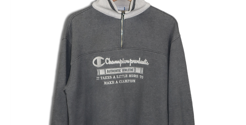 EARLY 2000s CHAMPION QUARTER ZIP | M