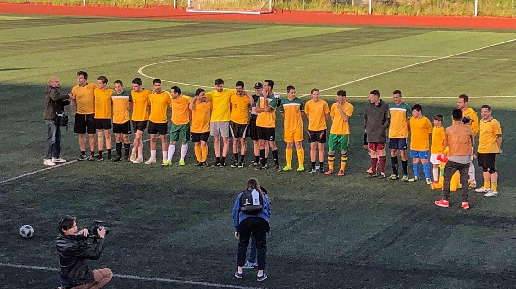 Match v France in Kazan