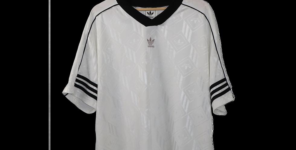 LATE 1990s ADIDAS FOOTBALL SHIRT | SIZE L