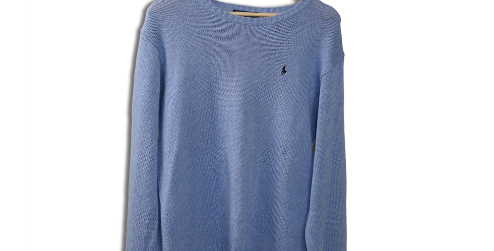 EARLY 1990s RALPH LAUREN KNITTED JUMPER | L
