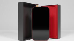 Mobile Phone & Box