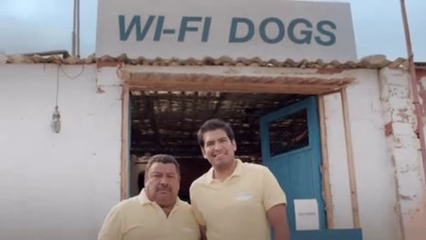 """T-Mobile """"Joses wi-fi Dogs"""""""