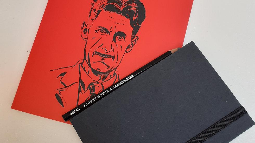 Orwell Book & Sketchbook Bundle